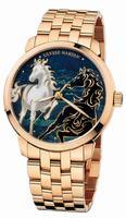 Ulysse Nardin Classico Enamel Mens Wristwatch 8156-111-8/CHEVAL