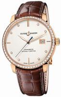 Ulysse Nardin Classico Automatic Mens Wristwatch 8156-111B-2-991