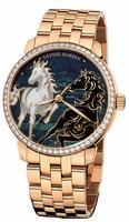 Ulysse Nardin Classico Enamel Mens Wristwatch 8156-111B-8/CHEVAL