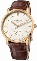 Ulysse Nardin Classico Manual Winding Mens Wristwatch 8206-168-2-31