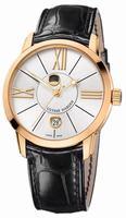 Ulysse Nardin Classico Luna Mens Wristwatch 8296-122-2/41