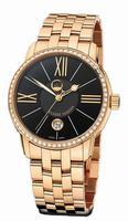 Ulysse Nardin Classico Luna Mens Wristwatch 8296-122B-8/42