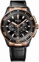 Zenith El Primero Stratos Flyback Mens Wristwatch 85.2060.405-23.C714