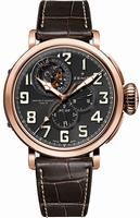 Zenith Pilot Montre d Aeronef Zenith Type 20 Tourbillon  Mens Wristwatch 87.2430.4035-21.C721