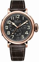 Zenith Pilot Montre d Aeronef Zenith Type 20 Annual Calendar Mens Wristwatch 87.2430.4054-21.C721