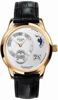 Glashutte PanoMaticLunar Mens Wristwatch 90-02-01-01-04