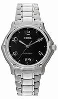 Ebel 1911 XL Big Date Mens Wristwatch 9125241.15665P