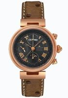 JACQUES LEMANS Classic/Moon Phase Chronograph Mens Wristwatch 916K-DA02C