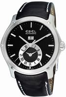 Ebel Classic Hexagon GMT Mens Wristwatch 9301F61.5335P06