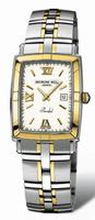Raymond Weil Parsifal  Rectangular (New) Mens Wristwatch 9340.STG00307