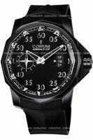 Corum Admirals Cup Black Competition 48 Mens Wristwatch 947.931.94-0371.AN52