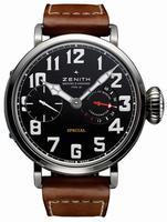 Zenith Pilot Montre d Aeronef Zenith Type 20 Mens Wristwatch 95.2420.5011-21.C723