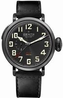 Zenith Pilot Montre d Aeronef Zenith Type 20 GMT Mens Wristwatch 96.2430.693-21.C703