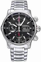 Ebel 1911 Discovery Chronograph Mens Wristwatch 9750L62.53B60