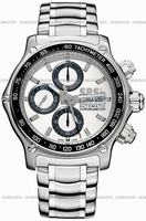 Ebel 1911 Discovery Chronograph Mens Wristwatch 9750L62.63B60