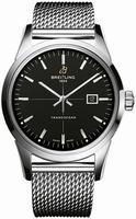 Breitling Transocean  Mens Wristwatch A1036012-BA91-SS
