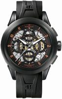 Perrelet Skeleton Chronograph Mens Wristwatch A1057.3