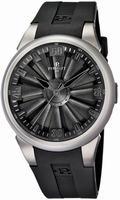 Perrelet Turbine Titanium Mens Wristwatch A1064.3