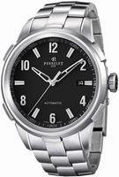 Perrelet Class-T 3 Hands Date Mens Wristwatch A1068.B