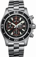 Breitling Superocean Chronograph  Mens Wristwatch A1334102-BA81-SS
