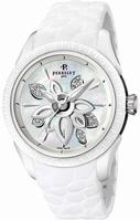 Perrelet Diamond Flower Ceramic Ladies Wristwatch A2039.1