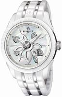 Perrelet Diamond Flower Ceramic Ladies Wristwatch A2039.A