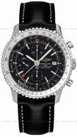 Breitling Navitimer World Mens Wristwatch A2432212.B726-BLT