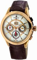 Perrelet Chronograph Big Date Mens Wristwatch A3001.3