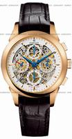 Perrelet Chronograph Skeleton GMT Mens Wristwatch A3007.8