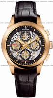 Perrelet Chronograph Skeleton GMT Mens Wristwatch A3007.9