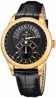 Perrelet Regulator Retrograde Mens Wristwatch A3014.5
