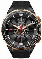 Perrelet Turbine Chronograph Mens Wristwatch A3036.1