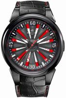 Perrelet Special Edition Turbine Swiss Flag Helvetia Mens Wristwatch A4037.1