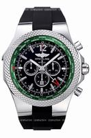 Breitling Breitling for Bentley Special Edition GMT Chronograph Mens Wristwatch A47362S4.B919-210S