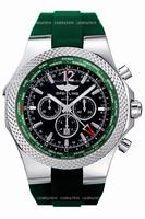 Breitling Breitling for Bentley Special Edition GMT Chronograph Mens Wristwatch A47362S4.B919-214S