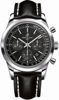 Breitling Transocean Chronograph Mens Wristwatch AB015212-BA99-LS