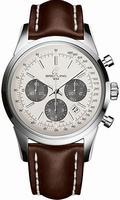 Breitling Transocean Chronograph Mens Wristwatch AB015212-G724-LS