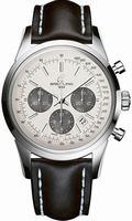 Breitling Transocean Chronograph Mens Wristwatch AB015212-G724L2