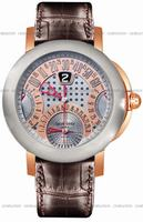 Gerald Genta Arena Chrono Quattro Retro Mens Wristwatch ABC-Y-55-395-CB-BD