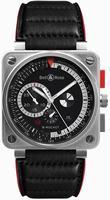 Bell & Ross Aviation BR0194-B-ROCKET Mens Wristwatch