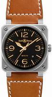 Bell & Ross Aviation BR0392-ST-G-HE/SCA Unisex Wristwatch