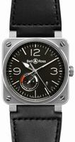 Bell & Ross Aviation BR-03-97-STEEL Mens Wristwatch