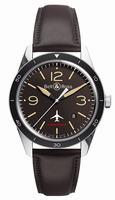 Bell & Ross Vintage Original BRV123-Falcon Mens Wristwatch