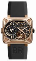 Bell & Ross BR Minuteur Tourbillon Pink Gold Mens Wristwatch