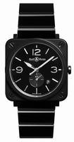 Bell & Ross BR S Black Ceramic Unisex Wristwatch