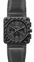 Bell & Ross Aviation BR0194-CA-FIBER-PH Mens Wristwatch
