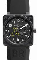 Bell & Ross Avation Mens Wristwatch BR01-97CLIMB