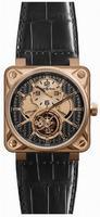Bell & Ross Aviation BR01-TOURB-PG/DCL Mens Wristwatch