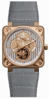 Bell & Ross Aviation BR01-TOURB-PG/ALU Mens Wristwatch