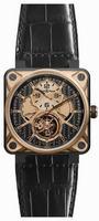 Bell & Ross Aviation BR01-TOURB-PG/CA Mens Wristwatch